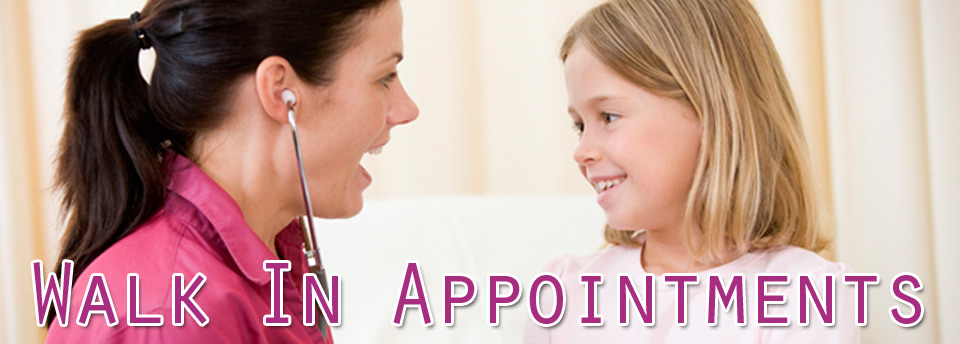 Walk In Appointments